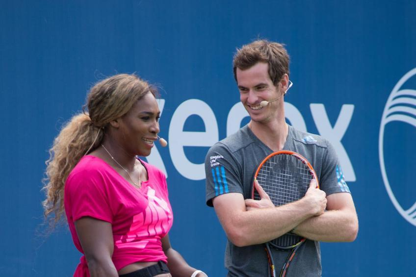 "Serena Williams : ""Andy Murray me rappelle beaucoup moi-même. Je suis une grand fan"""