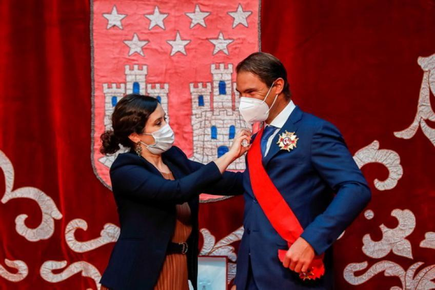 Rafael Nadal received the Grand Cross of the Order on May 2