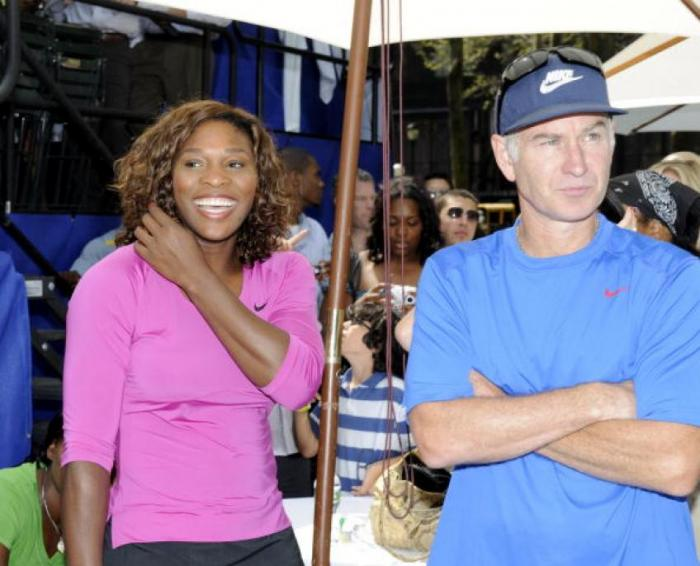 """Serena Williams aurait perdu contre John McEnroe"""