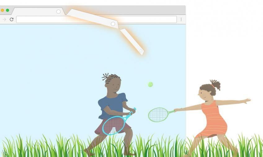 Small TAB de Tennis World Foundation recueille $528