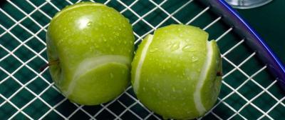 Tennis, protéines, gluten et alimentation