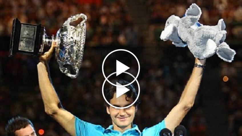 Meilleur souvenir Roger Federer - Édition 2010: Open d'Australie, un nouveau royaume
