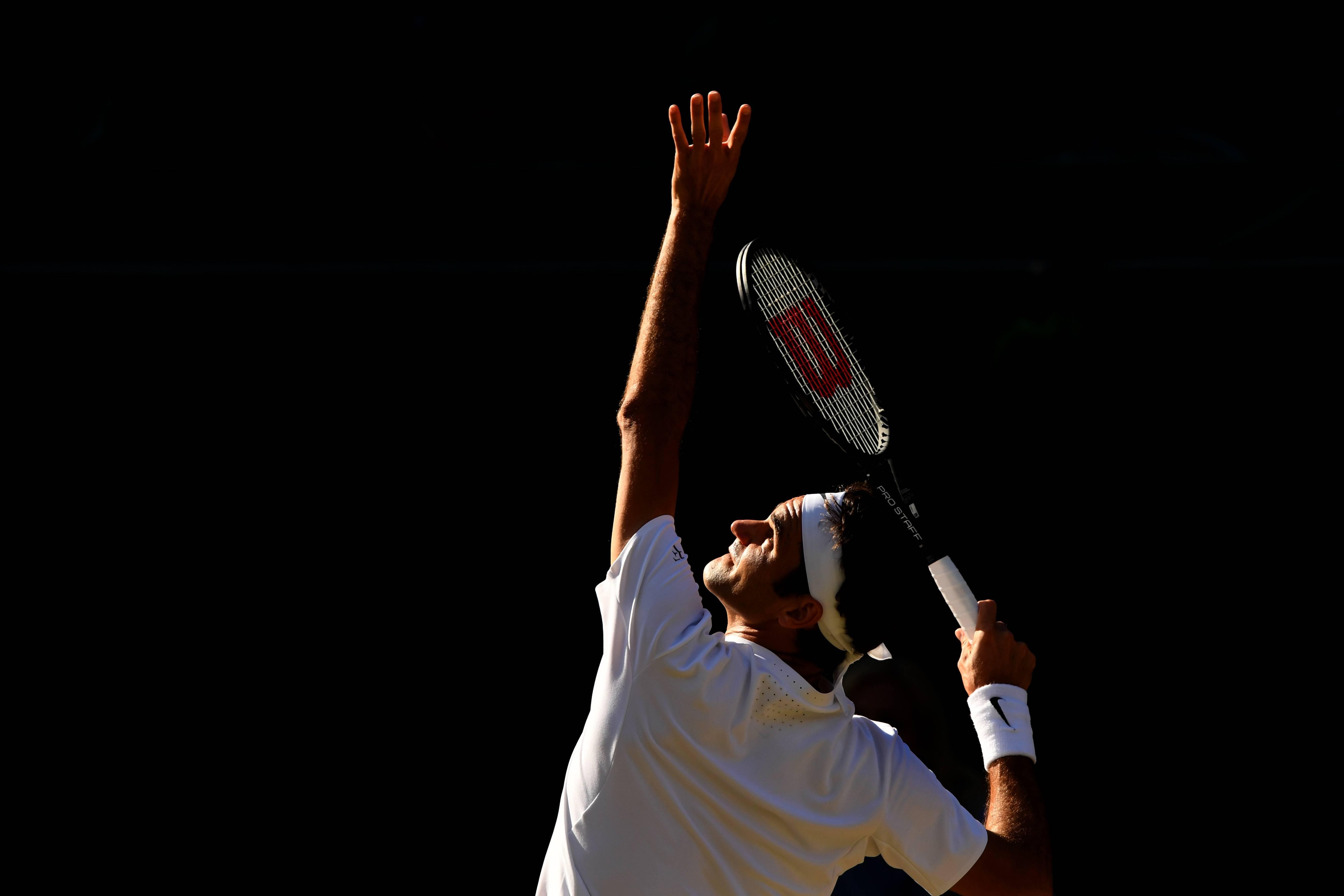 Roger Federer: Wimbledon 2017